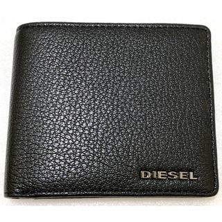 ディーゼル(DIESEL)のDIESEL    2つ折り財布 ブラック 新品未使用(折り財布)