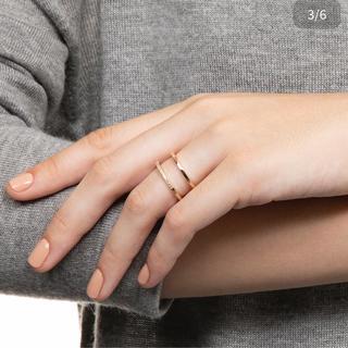 エストネーション(ESTNATION)のヒロタカ マンハッタンダブルダイヤモンドリング 滝沢眞規子(リング(指輪))