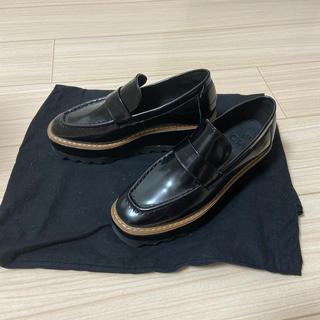 グレイル(GRL)の(GRL)スクエアトゥシャークソール厚底ローファー(ローファー/革靴)