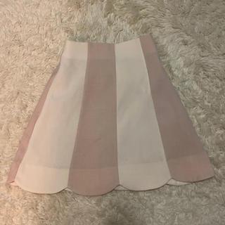 マジェスティックレゴン(MAJESTIC LEGON)のスカラップスカート(ミニスカート)