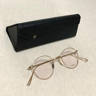 アヤメ(Ayame)の最終値下げ 新品未使用 ayame メガネMANRAY ホワイトゴールド(サングラス/メガネ)