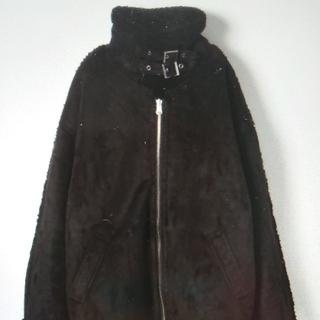 ジーナシス(JEANASIS)の【連休特別価格】ジーナシス / B-3/ブラック(ライダースジャケット)