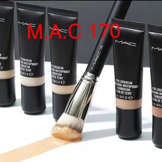 マック(MAC)の新品未使用 MAC 170 シンセティック ラウンデッド スラント ブラシ(ブラシ・チップ)