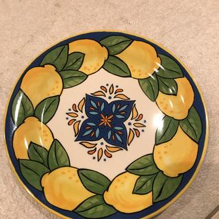 カルディ(KALDI)のKALDI レモン柄 お皿(食器)