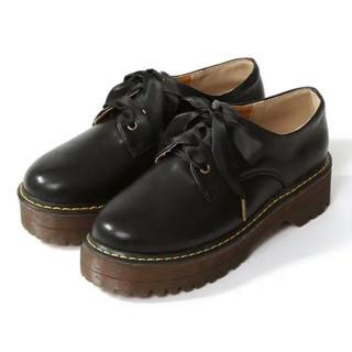 グレイル(GRL)のタイムセール!!【売り切れ商品】GRL 厚底レースアップシューズ(ローファー/革靴)