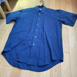 エンリココベリ(ENRICO COVERI)のメンズ 半袖シャツ 綿100(シャツ)