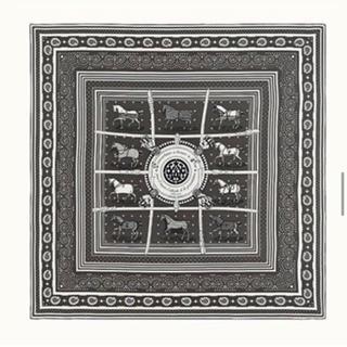 エルメス(Hermes)の1番人気のバンダナカシシル グリトープ(ストール/パシュミナ)