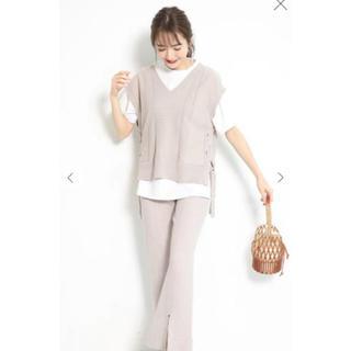 Rirandture - 最終値下げ 美品 リランドチュール   Tシャツ付きニットベスト