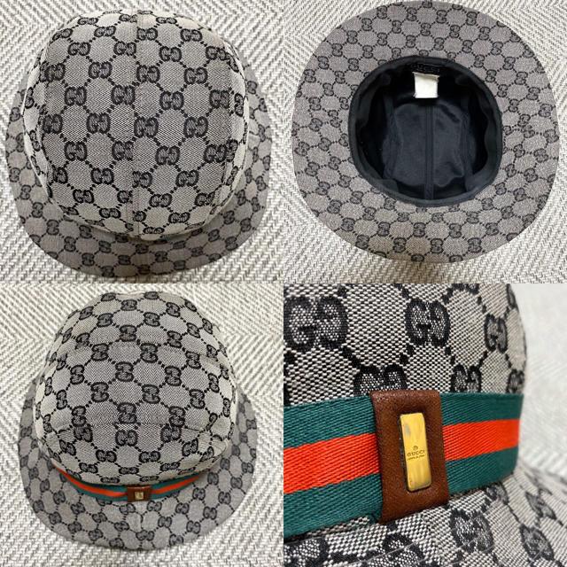 Gucci(グッチ)のGUCCI グッチ CG柄 総柄 ハット フィドラハット バケットハット メンズの帽子(ハット)の商品写真