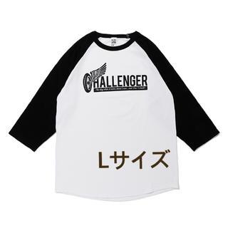 ネイバーフッド(NEIGHBORHOOD)の【完売品】CHALLENGER RAGLAN TEE(Tシャツ/カットソー(七分/長袖))