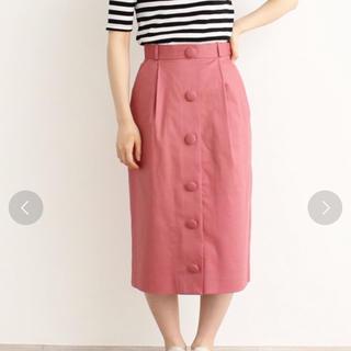 ドットアンドストライプスチャイルドウーマン(Dot&Stripes CHILDWOMAN)のドット&ストライプス/リネンドライツイル タイトスカート(ひざ丈スカート)