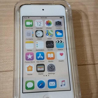 アイポッドタッチ(iPod touch)のiPod touch 128GB ゴールド  MKWM2J/A 第6世代 新品(ポータブルプレーヤー)