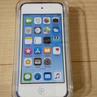 アイポッドタッチ(iPod touch)のiPod touch 128GB MKWP2J/A/apple第6世代ブルー新品(ポータブルプレーヤー)