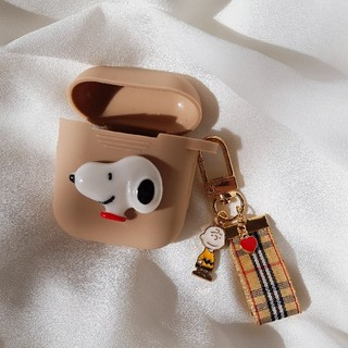 SNOOPY - スヌーピー AirPodsケース エアーポッズ カバー チャーム