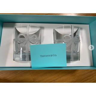 Tiffany & Co. - ティファニーペアグラス リボン