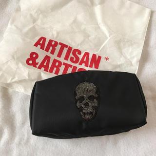 アルティザンアンドアーティスト(Artisan&Artist)のアルティザン&アーティスト【新品】化粧ポーチ(ポーチ)