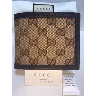 グッチ(Gucci)の【新品未使用品】小銭入り付き GUCCI グッチ 折り財布 正規品(折り財布)