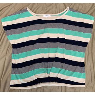 ナチュラルビューティーベーシック(NATURAL BEAUTY BASIC)のナチュラルビューティーベーシック ボーダー レディース Tシャツ(Tシャツ(半袖/袖なし))