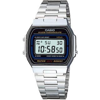 [カシオ] 腕時計 スタンダード A164WA-1 シルバー メンズ 新品未使用(腕時計(デジタル))