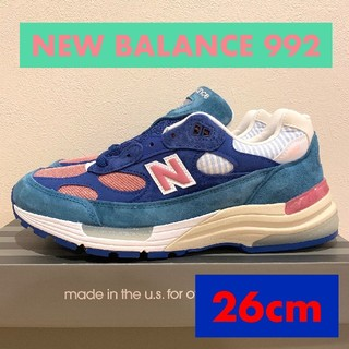 ニューバランス(New Balance)のセール!!26 NEW BALANCE 992 NT ニューバランス(スニーカー)