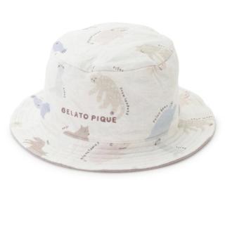 ジェラートピケ(gelato pique)のgelato pique【旭山動物園】ペイントアニマルモチーフ baby ハット(帽子)