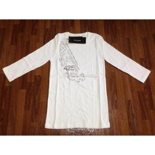 ドゥロワー(Drawer)のJACK HENRY 425七分Tシャツ 36 ホワイト(Tシャツ/カットソー(七分/長袖))