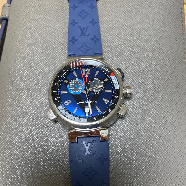 LOUIS VUITTON(ルイヴィトン)のルイヴィトン タンブール 腕時計 美品!   ベルト二本付き!即落札ok、即発送 メンズの時計(腕時計(アナログ))の商品写真