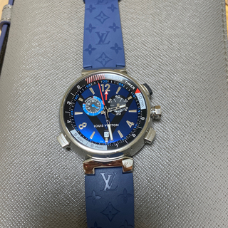LOUIS VUITTON - ルイヴィトン タンブール 腕時計 美品!   ベルト新品!!