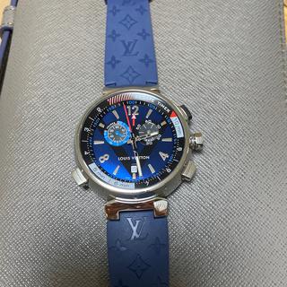 ルイヴィトン(LOUIS VUITTON)のルイヴィトン タンブール 腕時計 美品!   ベルト二本付き! 最終値下げ!!(腕時計(アナログ))