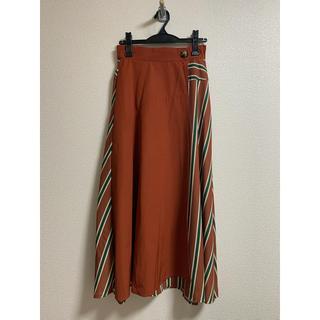 アウラアイラ(AULA AILA)のアウラアイラ AULAAILA 巻きスカート 美品(ロングスカート)