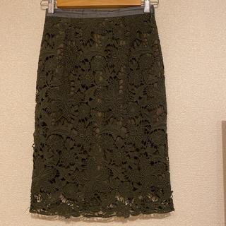 ジャスグリッティー(JUSGLITTY)のジャスグリッティー  レースタイトスカート(ひざ丈スカート)