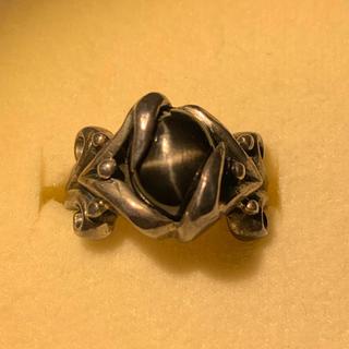 ブラックスターリング(リング(指輪))