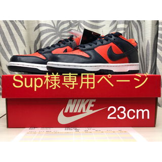 ナイキ(NIKE)の(23cm) Nike Dunk Low Champ Colors(スニーカー)