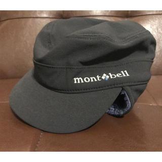 モンベル(mont bell)のモンベル キャップ 冬用 黒 Mサイズ(キャップ)