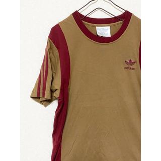 アディダス(adidas)の【激レア】アディダス トレフォイル Tシャツ ワンポイント 刺繍(Tシャツ/カットソー(半袖/袖なし))