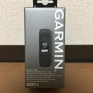 ガーミン(GARMIN)のGARMIN ガーミン アクティブトラッカー 活動量計 vivofit4(トレーニング用品)