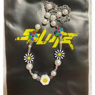 シュプリーム(Supreme)のSALUTE FLOWER ANARCHY NECKLACE(ネックレス)