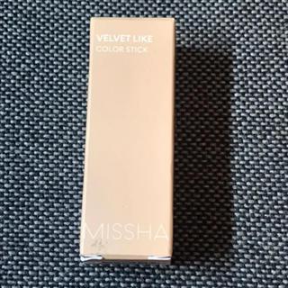 ミシャ(MISSHA)のMISSHA ベルベットライク カラースティック KEY LIGHT(チーク)