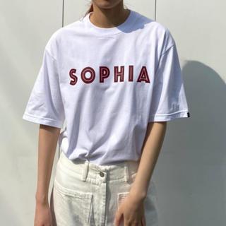 ワンエルディーケーセレクト(1LDK SELECT)のennoy SOPHIA Tシャツ Lサイズ 1LDK(Tシャツ/カットソー(半袖/袖なし))