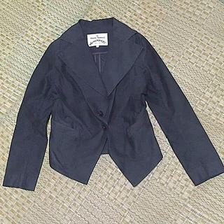 ヴィヴィアンウエストウッド(Vivienne Westwood)のアングロマニア ジャケット 黒(テーラードジャケット)