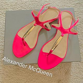 アレキサンダーマックイーン(Alexander McQueen)のAlexander McQueen サンダル 37(サンダル)