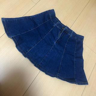 マジェスティックレゴン(MAJESTIC LEGON)のデニムスカート ミニスカート(ミニスカート)