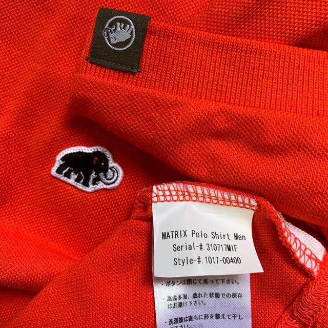 Mammut(マムート)のマムート ポロシャツ スポーツ/アウトドアのアウトドア(登山用品)の商品写真