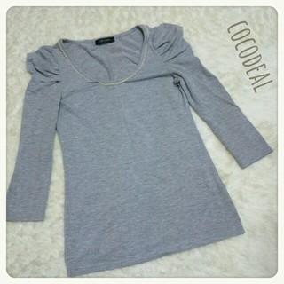 ココディール(COCO DEAL)のcocodeal*七分袖tops(Tシャツ(長袖/七分))