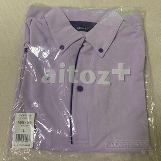 アイトス(AITOZ)のAITOZ ポロシャツ Lサイズ(ポロシャツ)