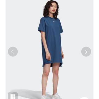 アディダス(adidas)のadidas トレフォイルワンピース(ミニワンピース)