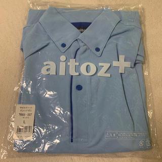 AITOZ ポロシャツ ブルー