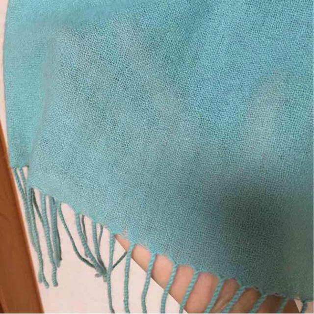 LE CIEL BLEU(ルシェルブルー)のカシミヤストール、アメリシューズ♡ レディースのファッション小物(ストール/パシュミナ)の商品写真