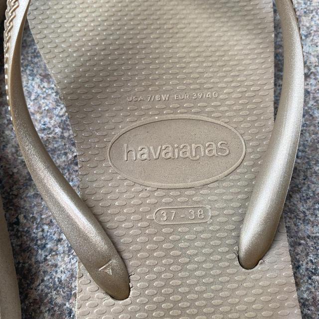 havaianas(ハワイアナス)のハワイアナス サンドグレー 37-38 レディースの靴/シューズ(ビーチサンダル)の商品写真