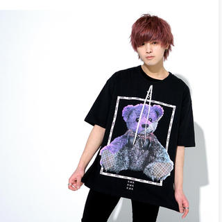 ミルクボーイ(MILKBOY)のkinglymask   セパレートリボンタイへっどふぉん BIG Tシャツ(Tシャツ/カットソー(半袖/袖なし))